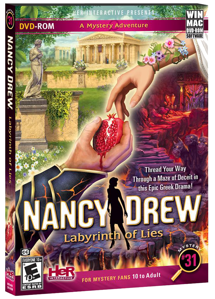 Нэнси дрю: лабиринт лжи / nancy drew: labyrinth of lies (2014) pc.